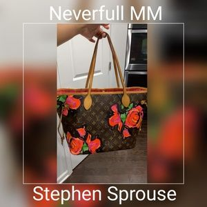 SOLD! NEVERFULL MM limited Ed Stephen Sprouse